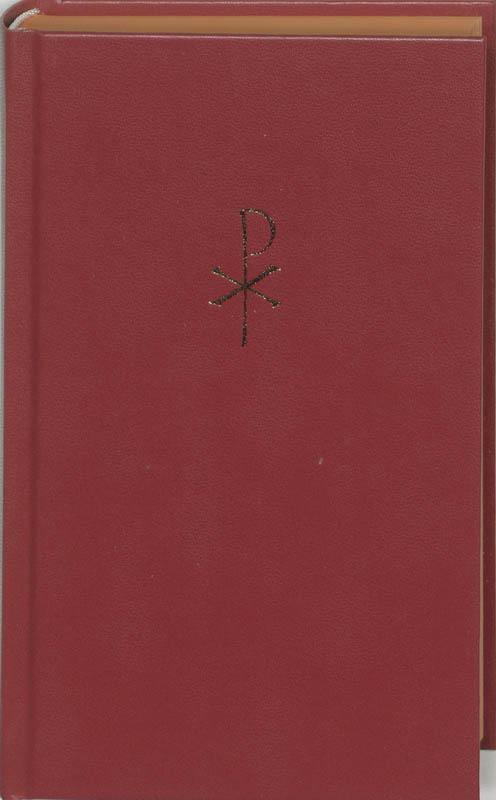Liedboek voor de kerken groot balacron rood