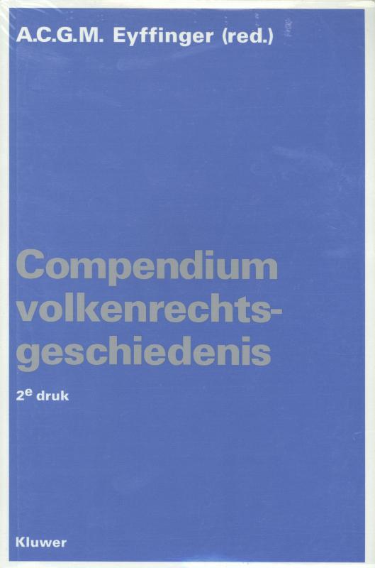 Compendium volkenrechtsgeschiedenis