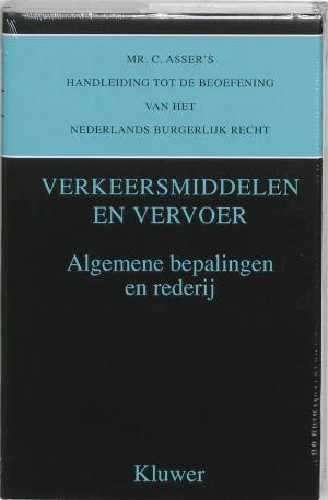 Asser 7-I Verkeersmiddelen en vervoer - Algemene bepalingen en rederij