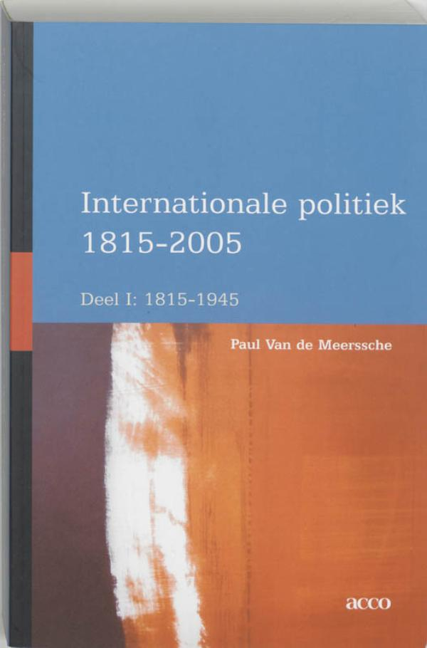 Internationale politiek 1815-1945