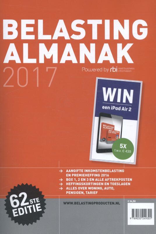 Elsevier Belasting Almanak