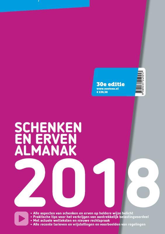 Nextens Schenken en Erven Almanak 2018