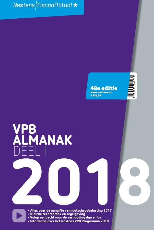Nextens VPB Almanak 2018  Deel 1