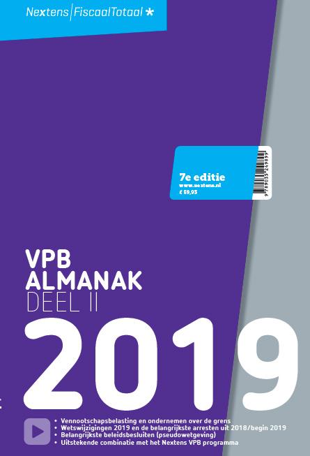 Nextens VPB Almanak deel II