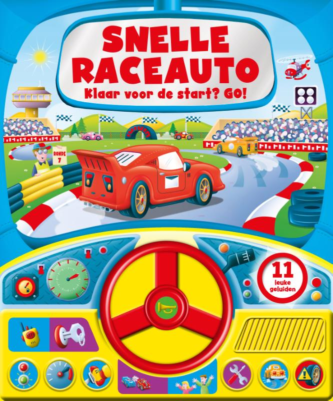 Snelle Raceauto - Geluidboek