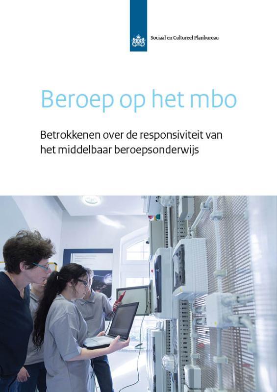 SCP-publicatie Beroep op het mbo
