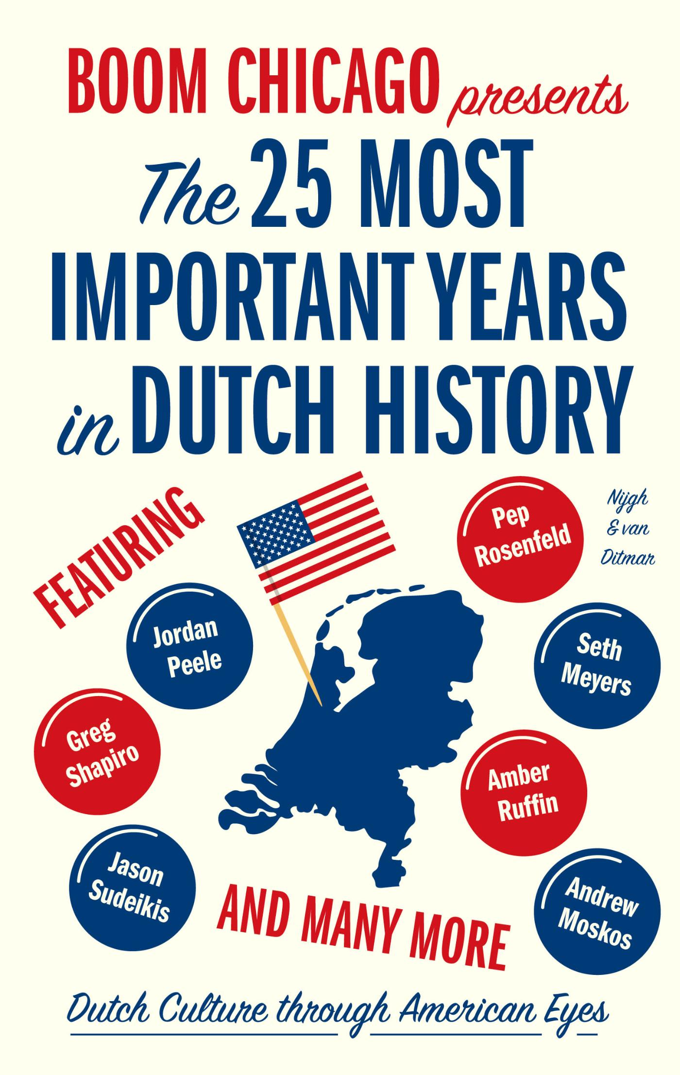 The 25 Most Important Years in Dutch History