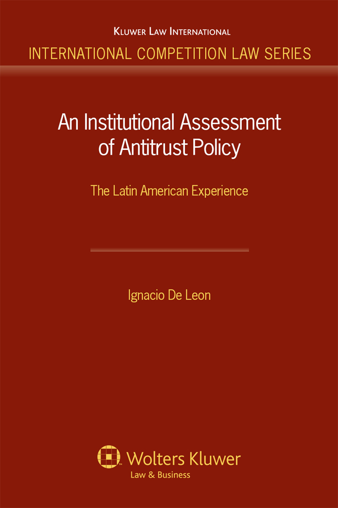 An Institutional Assessment of Antitrust Policy