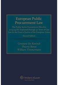 European Public Procurement Law. Second Edition