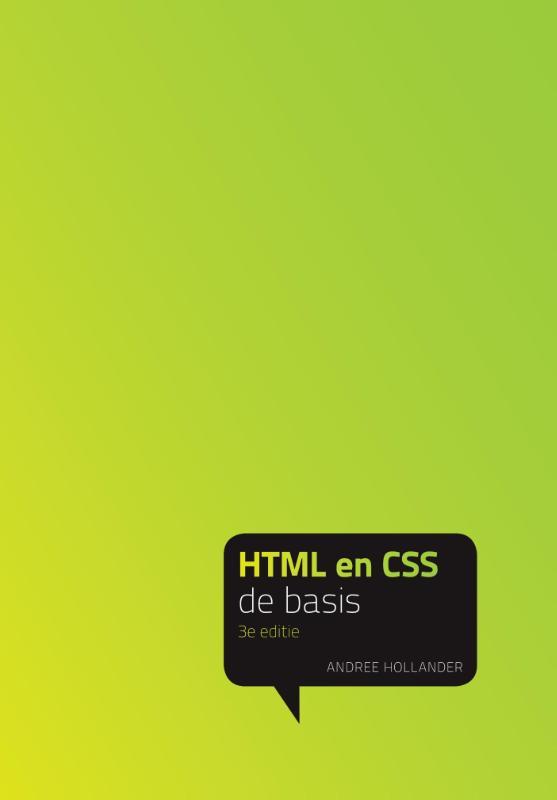 De Basis HTML en CSS