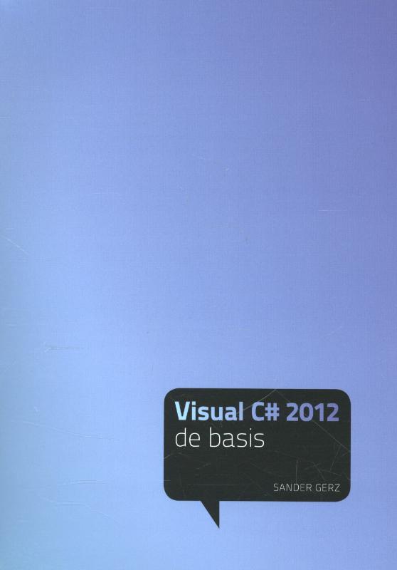 Visual C# 2012 - de basis