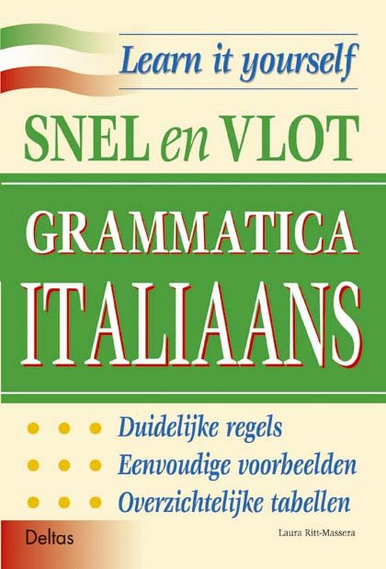 Learn it yourself- Snel en vlot grammatica Italiaans