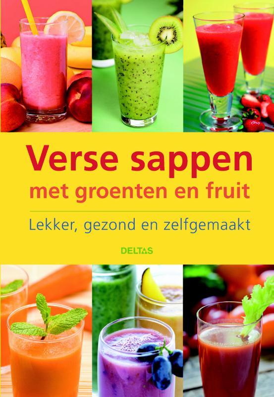 Verse sappen met groente en fruit