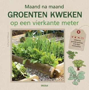 Maand na maand groenten kweken op een vierkante meter