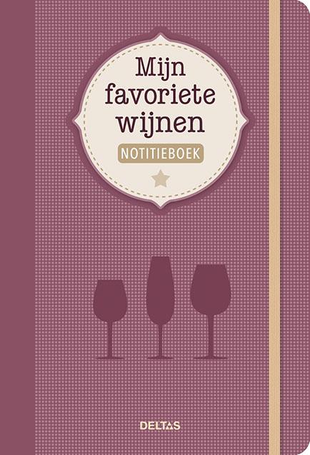 Mijn favoriete wijnen notitieboek