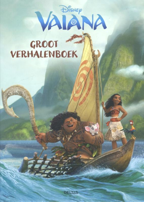 Disney groot verhalenboek Vaiana