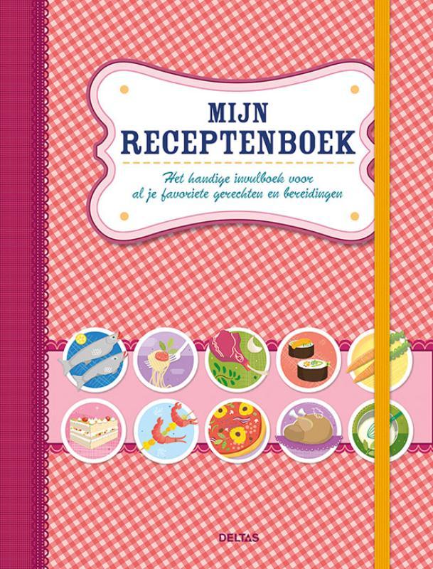 Mijn receptenboek (rood)