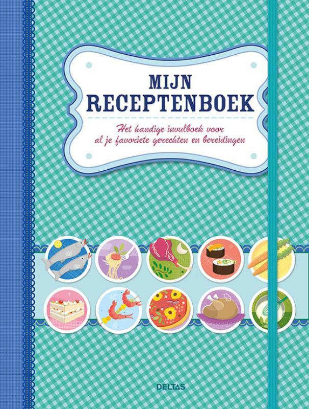 Mijn receptenboek (blauw)