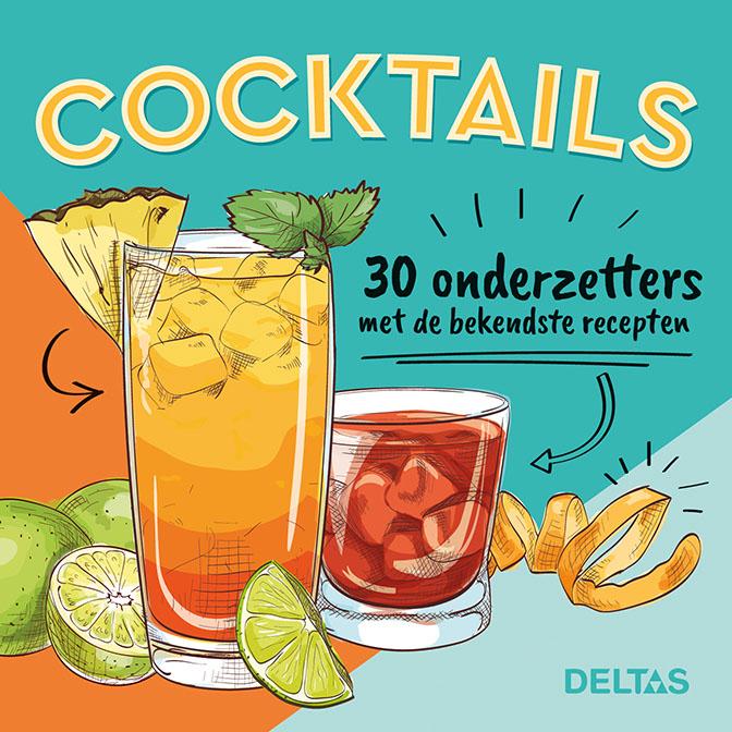Cocktails 30 onderzetters met de bekendste recepten