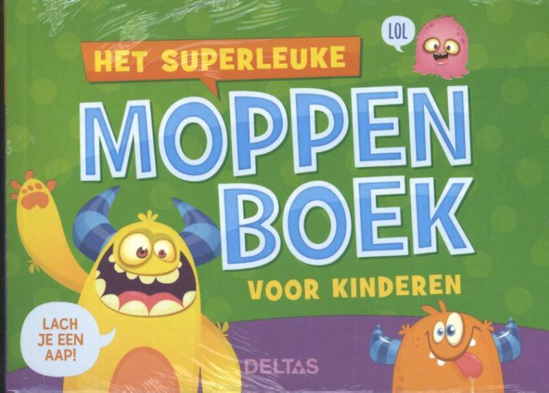 Het superleuke moppenboek voor kinderen set 3 ex.