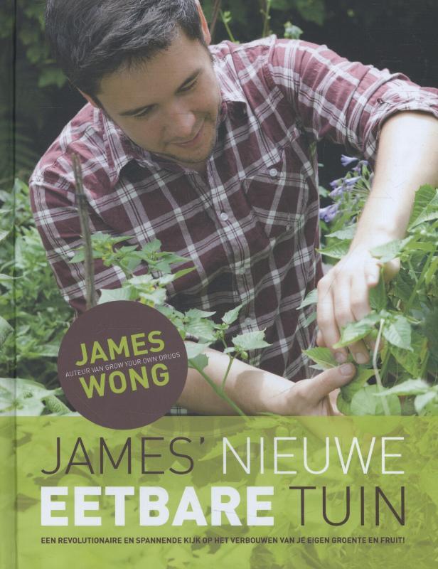 James' nieuwe eetbare tuin