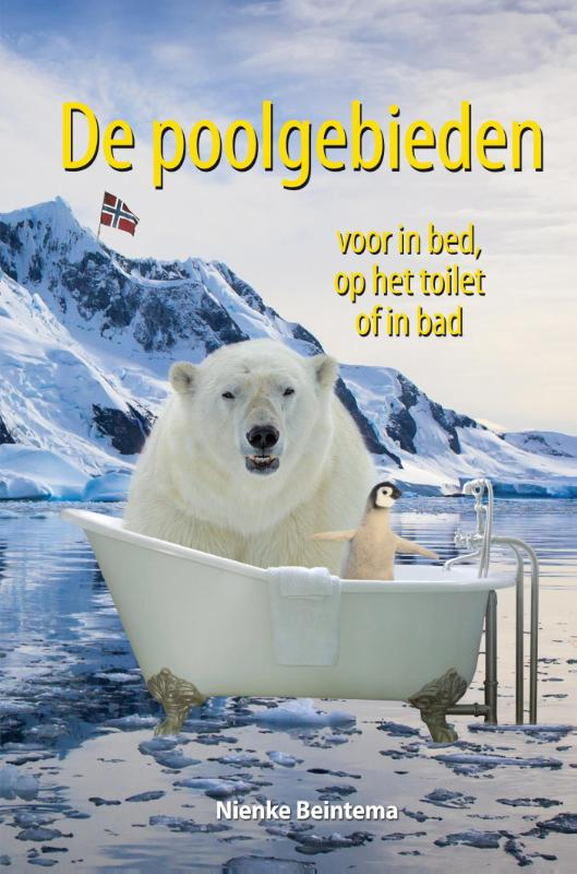 De poolgebieden voor in bed, op het toilet of in bad