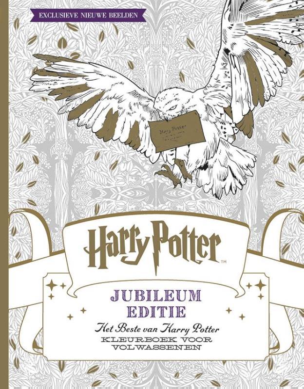 Harry Potter - Jubileum editie - kleurboek voor volwassenen