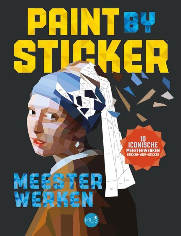 Paint by sticker - meesterwerken