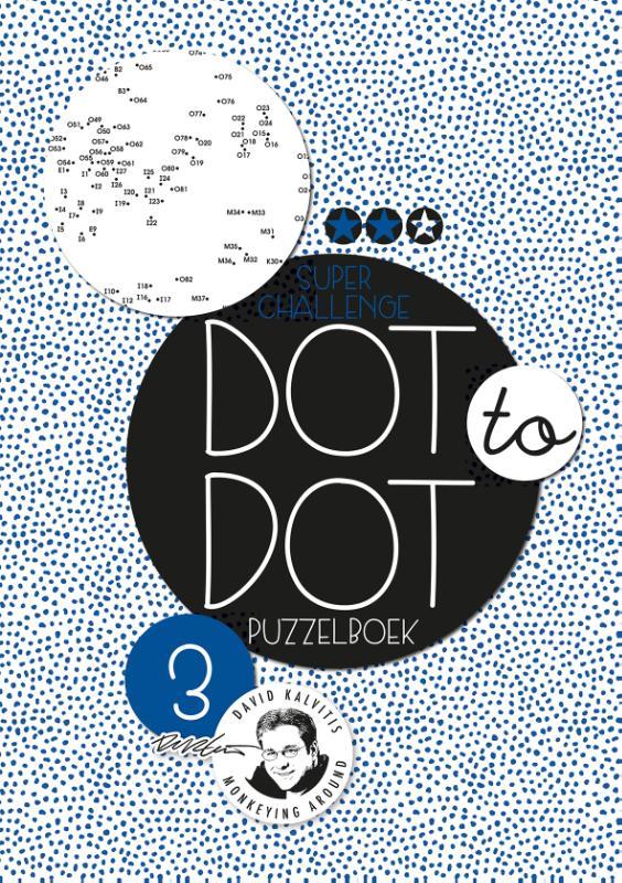 Dot to dot puzzelboek Superchallenge 3