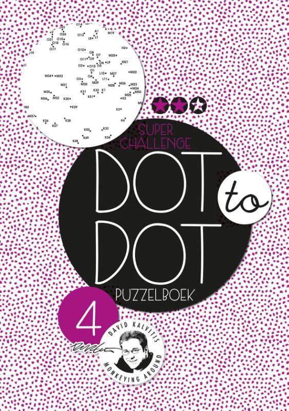 Dot to dot puzzelboek Superchallenge 4