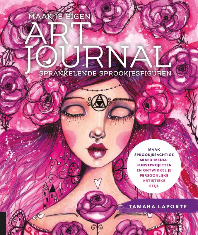 Maak je eigen art journal -Sprankelende sprookjesfiguren