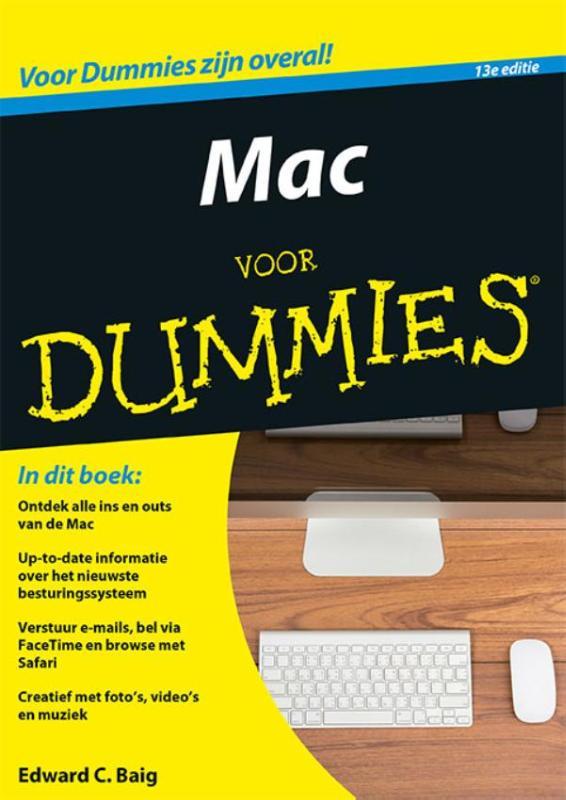 Mac voor Dummies, 13e editie