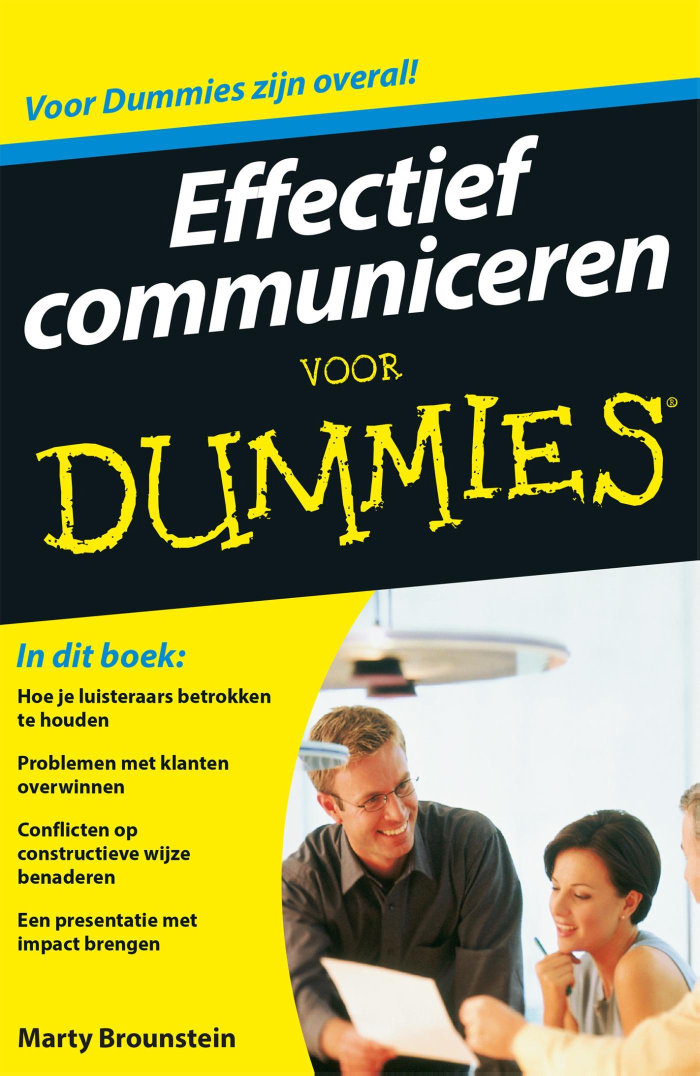 Effectief communiceren voor Dummies (eBook)