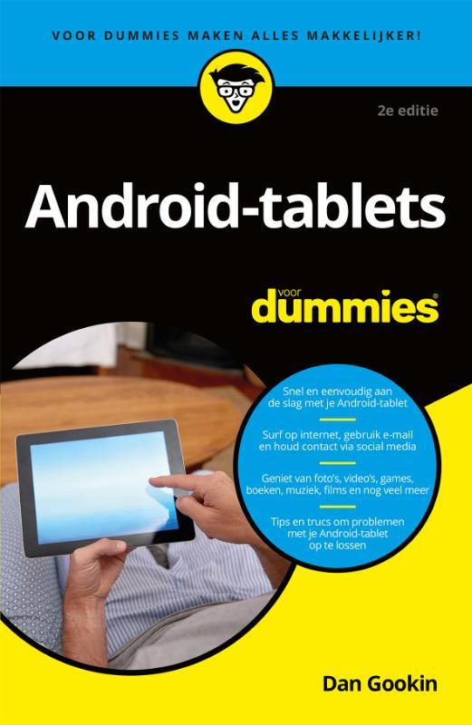 Android-tablets voor Dummies, 2e editie, pocketeditie