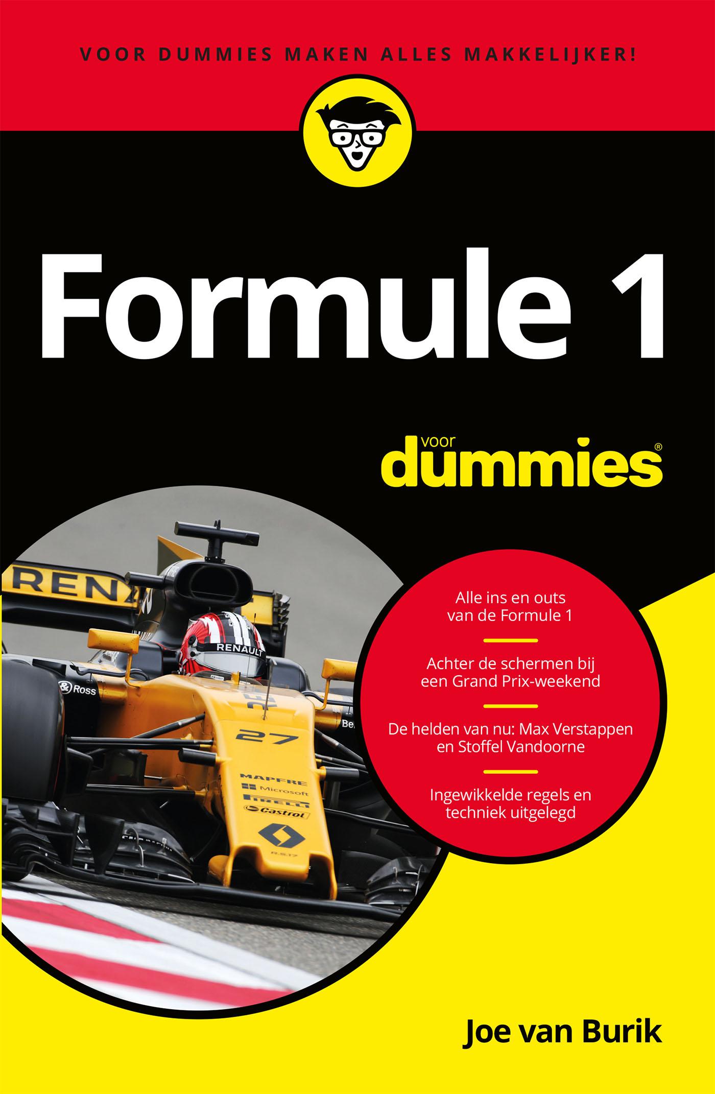 Formule 1 voor Dummies (eBook)