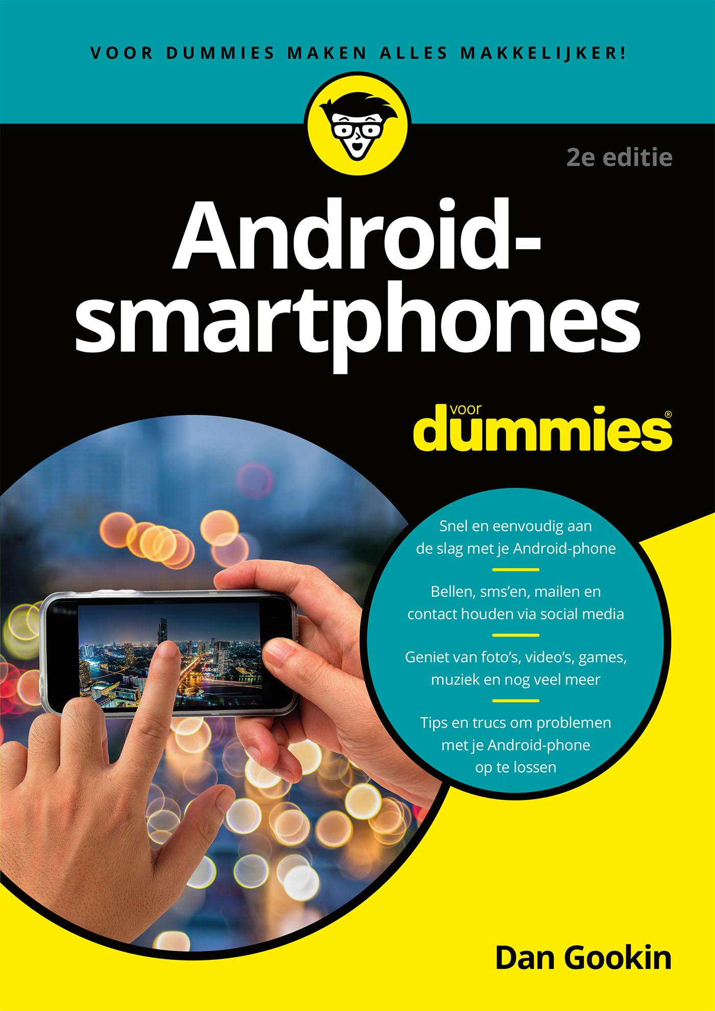 Android-smartphones voor Dummies, 2e editie (eBook)
