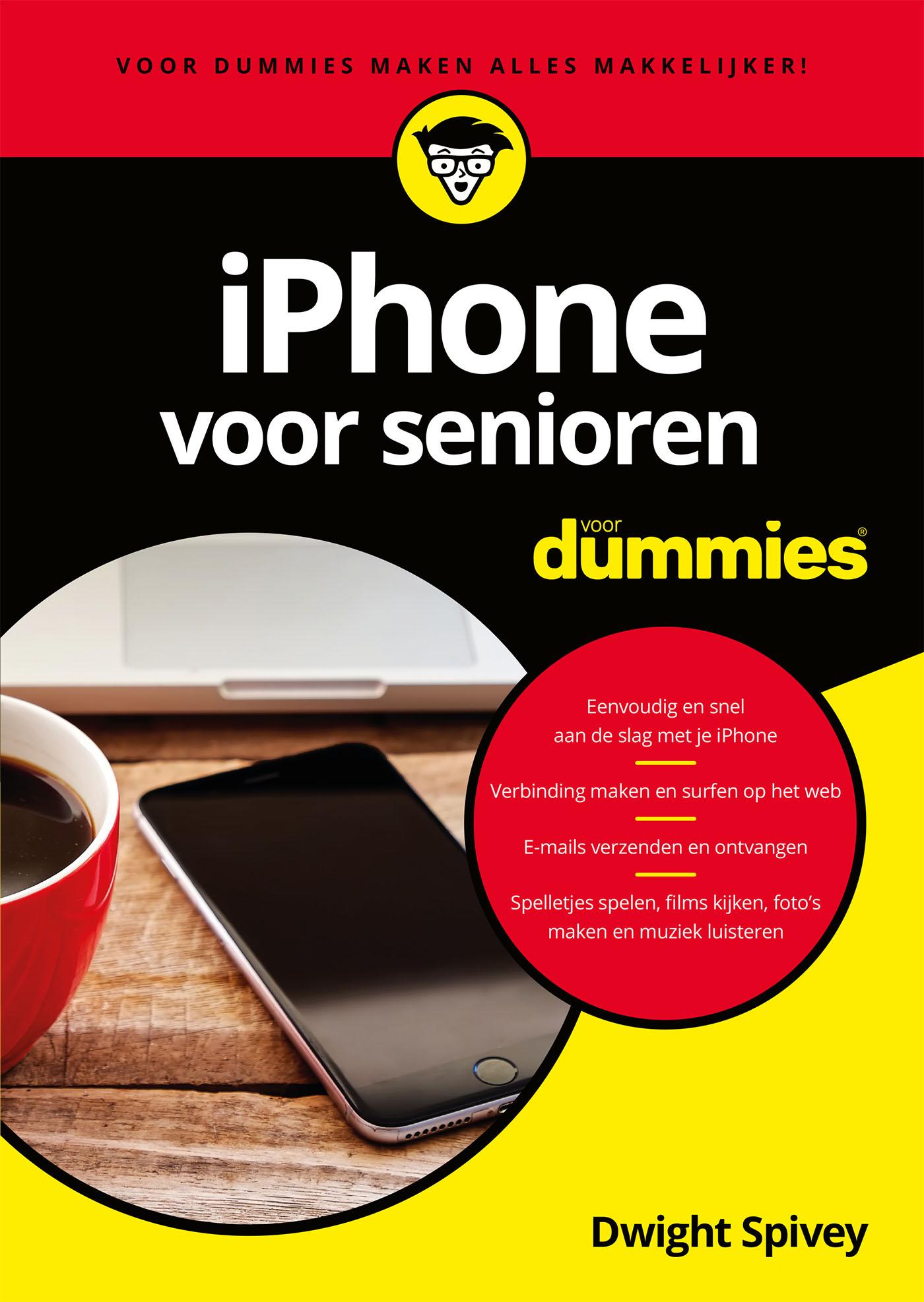 iPhone voor senioren voor Dummies (eBook)