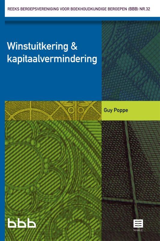Winstuitkering & kapitaalvermindering (BE) (reeks BBB)