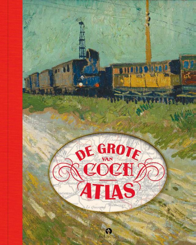De Grote Van Gogh Atlas + 2 DVD's van de tv-serie Krabbé zoekt Van Gogh.
