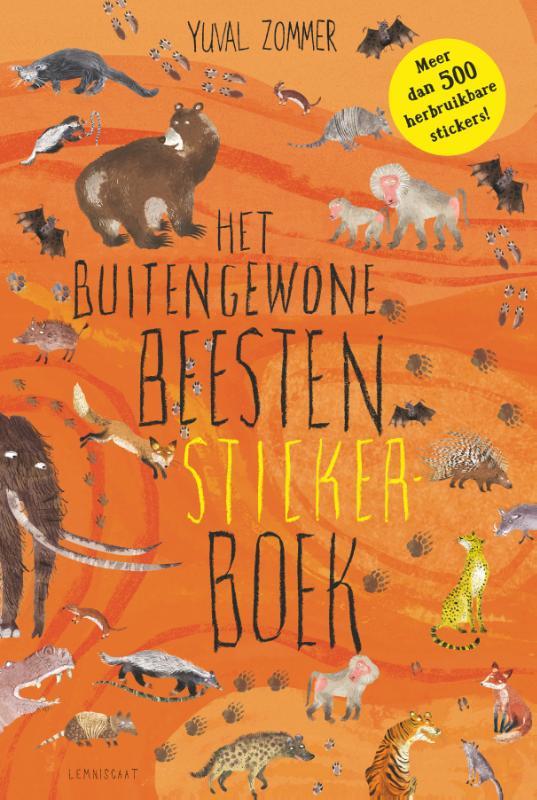 Het Buitengewone Beesten Stickerboek