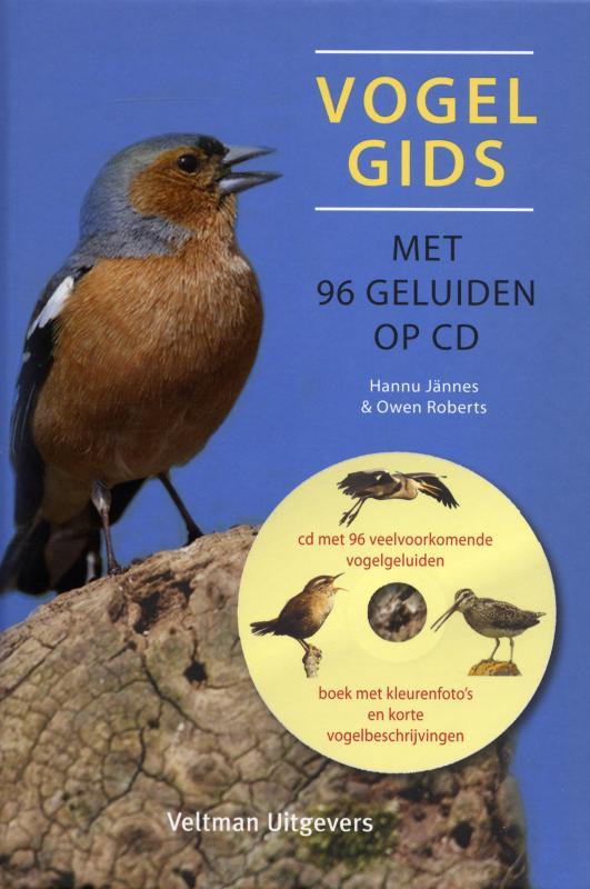 Vogelgids met 96 geluiden op CD
