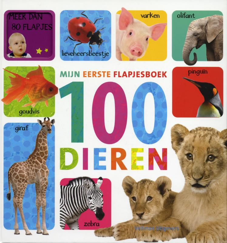 Mijn eerste flapjesboek 100 dieren