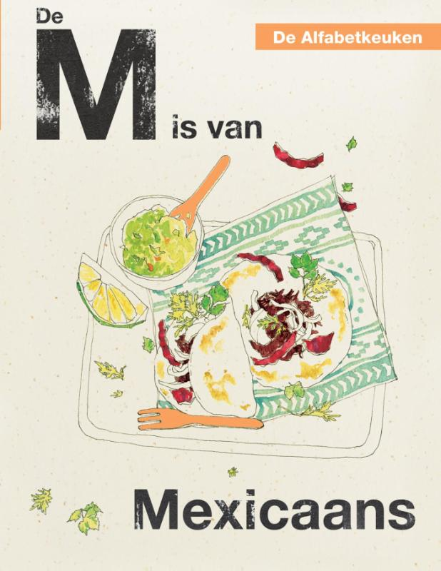 De Alfabetkeuken De M is van Mexicaans