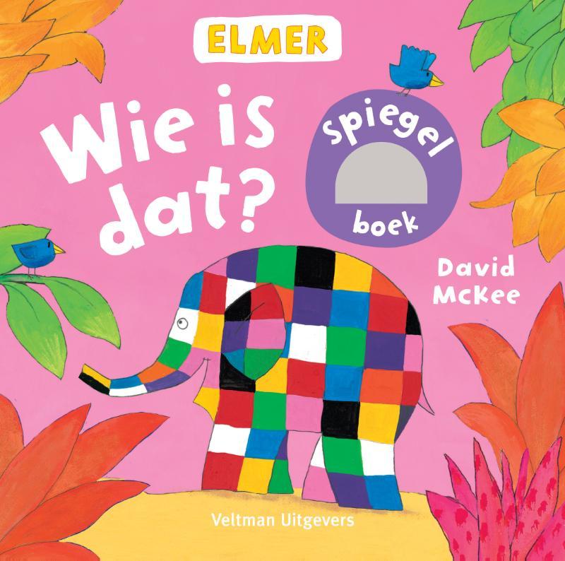 Elmer spiegelboek - Wie is dat?