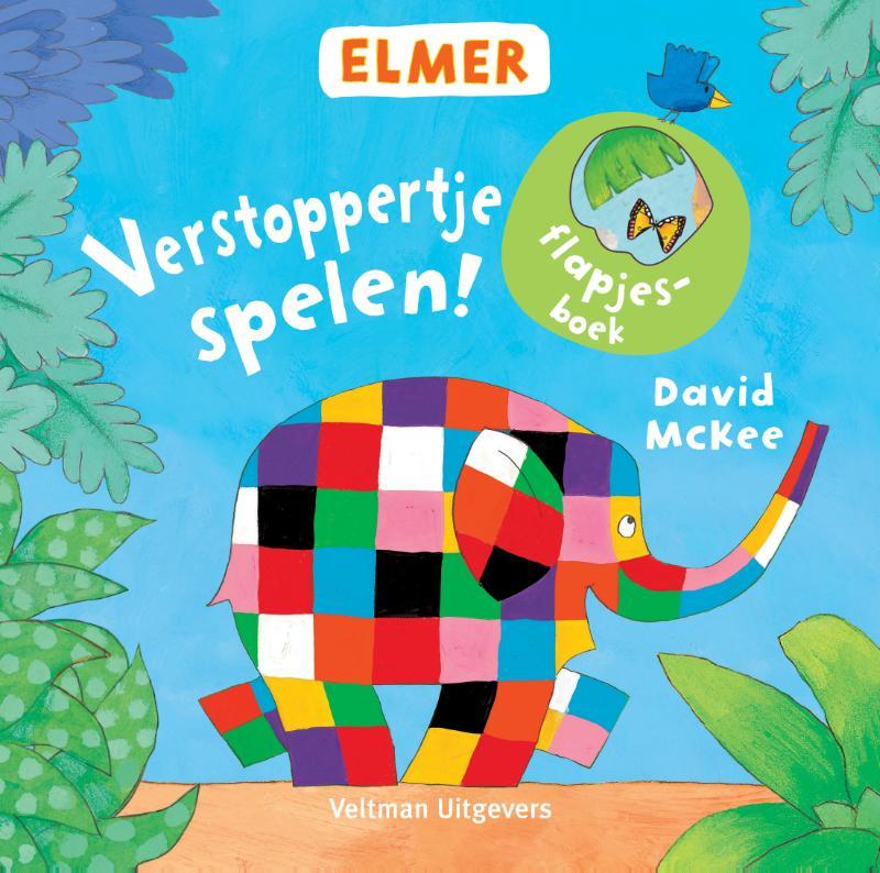 Elmer flapjesboek - Verstoppertje spelen