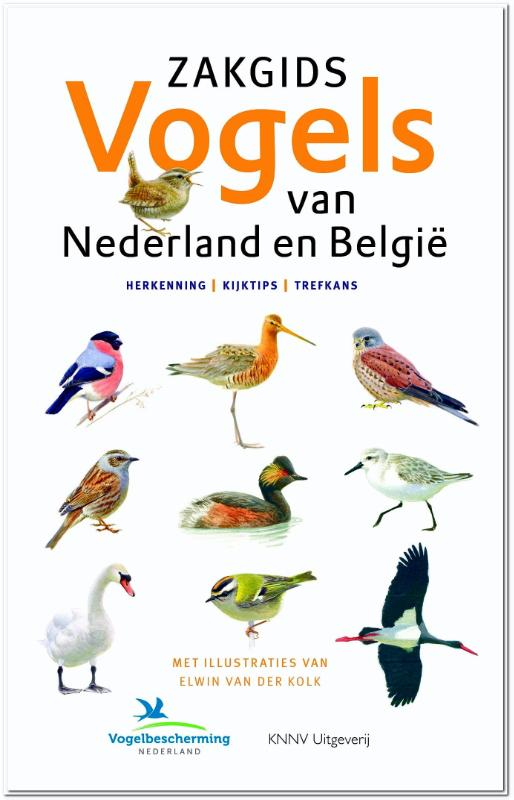 Zakgids Vogels van Nederland en België - vogelgids