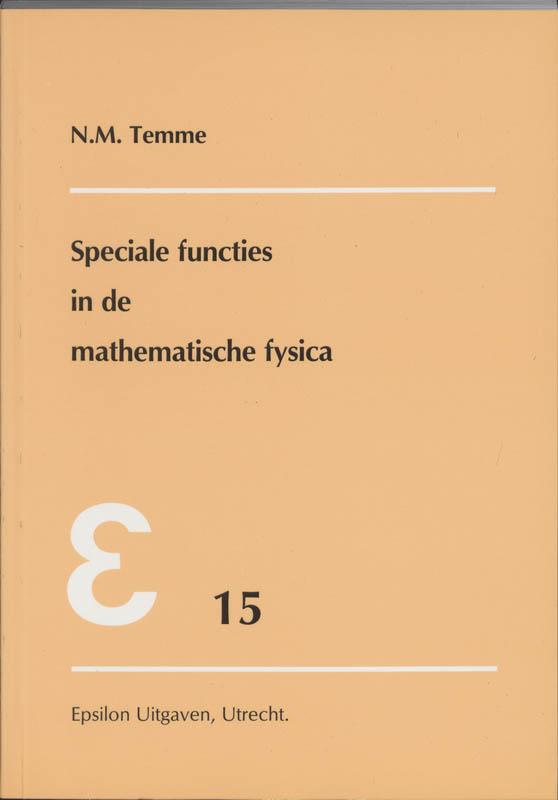 Epsilon uitgaven Speciale functies in de mathematische fysica