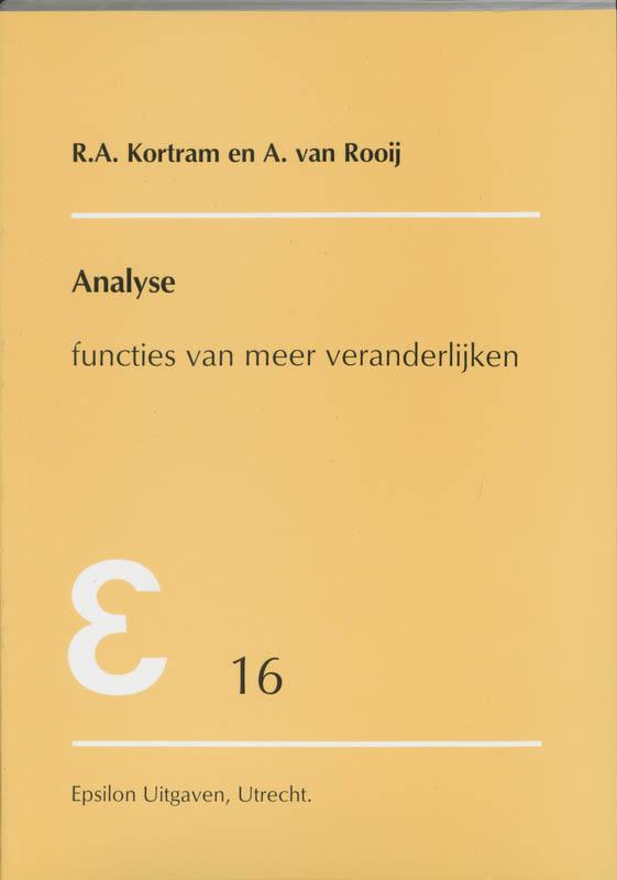 Epsilon uitgaven Analyse