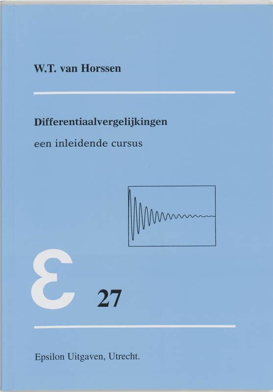 Epsilon uitgaven Differentiaalvergelijkingen
