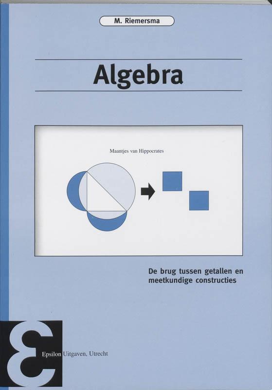 Epsilon uitgaven Algebra
